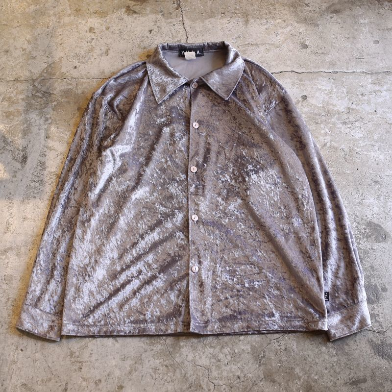 画像1: VELVET DESIGN SHIRT / Men's S(L) / MADE IN USA (1)