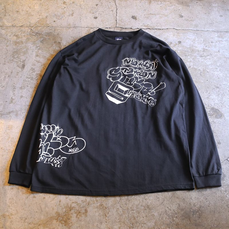 画像1: 【STUSSY】MULTI GRAPHIC DESIGN L/S TEE / Mens L (1)