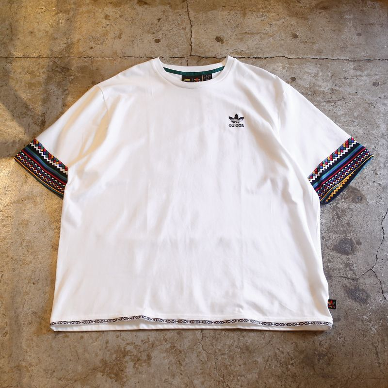 画像1: 【adidas × PHARRELL WILLIAMS】DESIGN TEE / Mens L(XL) (1)