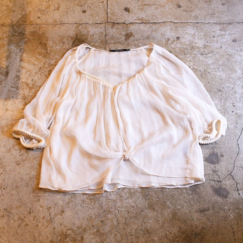画像1: DESIGN CHIFFON BLOUSE / Ladies M (1)