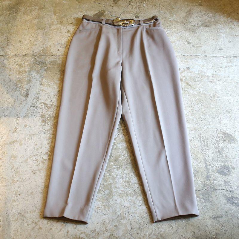 画像1: DESIGN BELT PANTS / W28 / MADE IN FRANCE (1)