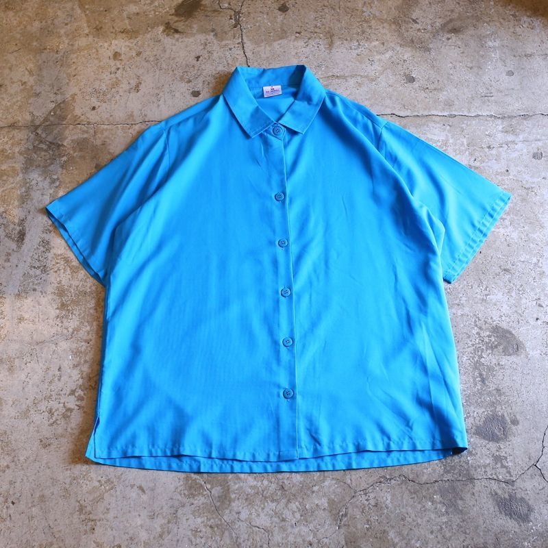 画像1: COLOR DESIGN S/S SHIRT / Ladies M / MADE IN USA (1)