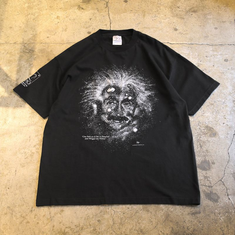 "画像1: 1993's VINTAGE ""Einstein"" ART TEE / Mens XL (1)"
