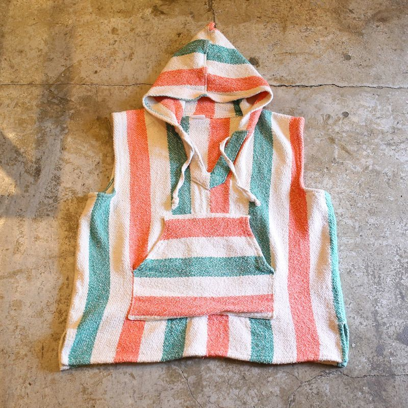 画像1: STRIPE PATTERN N/S MEXICAN PARKA / Ladies M (1)