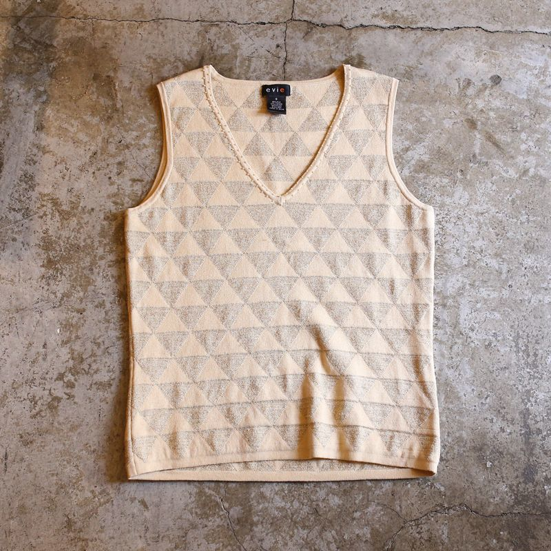 画像1: DESIGN SILK VEST / Ladies S (1)