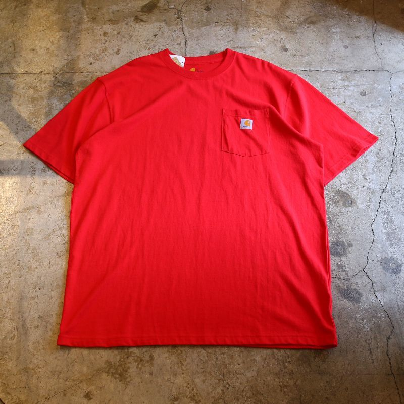 画像1: 【CARHARTT】POCKET S/S TEE / Mens XL (1)