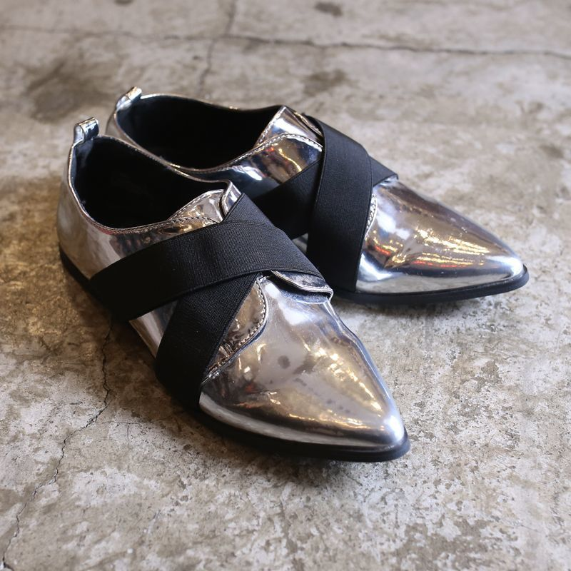 画像1: METALLIC DESIGN SHOES / 8 (1)