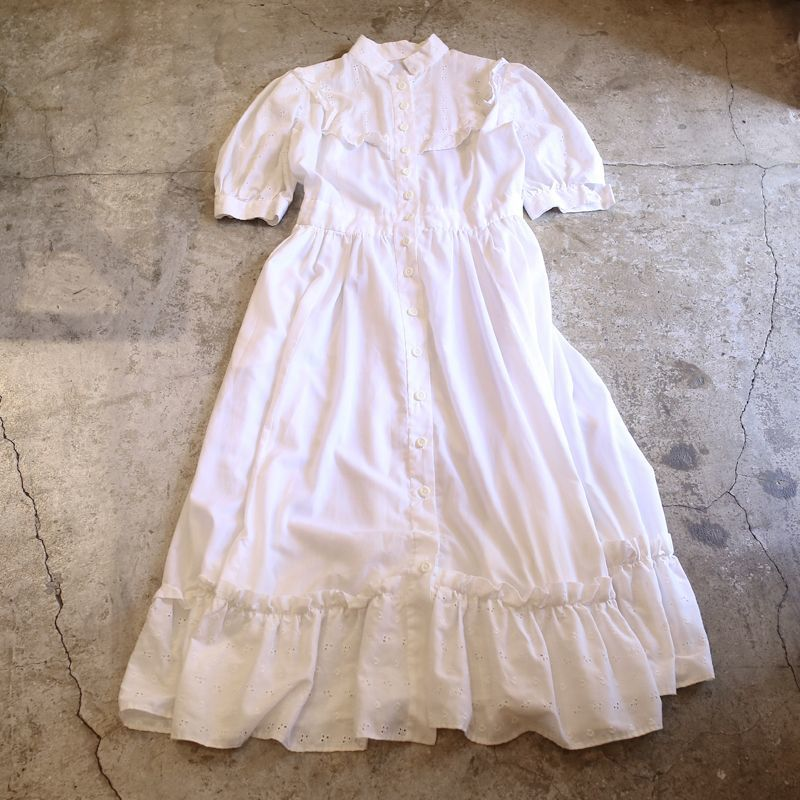 画像1: VINTAGE DESIGN ONE-PIECE / Ladies M (1)