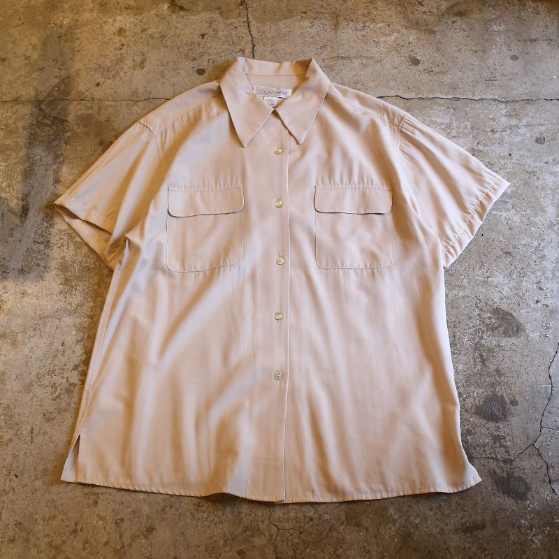 画像1: DESIGN S/S RAYON SHIRT / Ladies L (1)