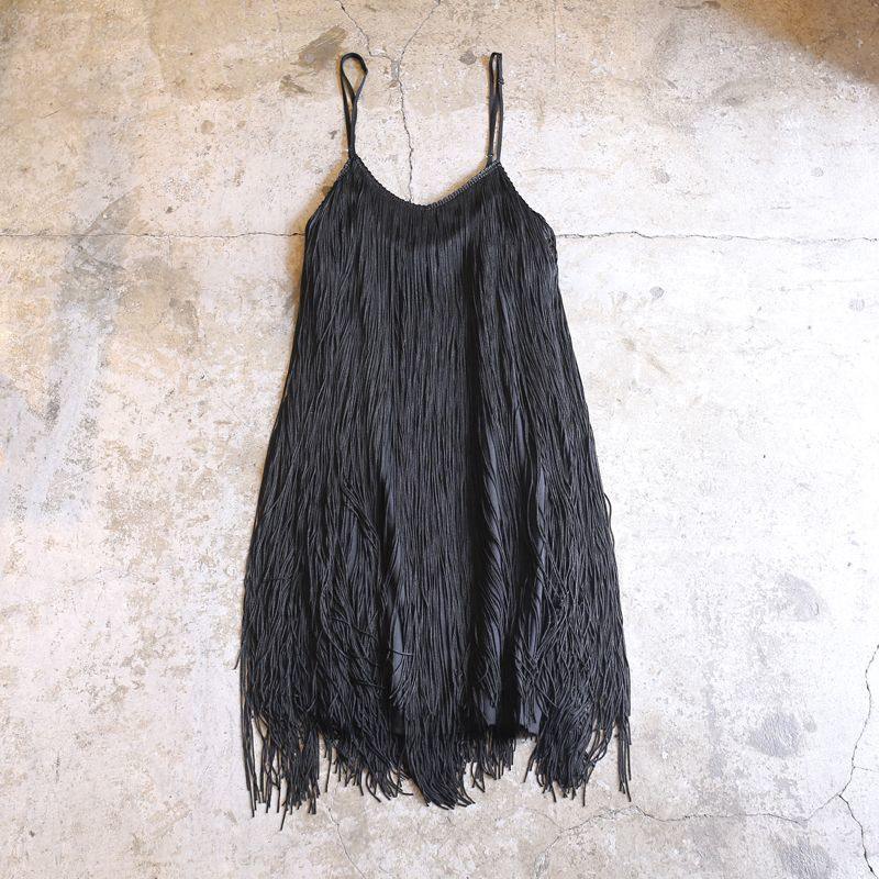 画像1: FRINGE DESIGN RAYON CAMISOLE / Ladies S / MADE IN USA (1)