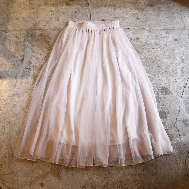 画像1: DESIGN TULLE SKIRT / W26~ (1)