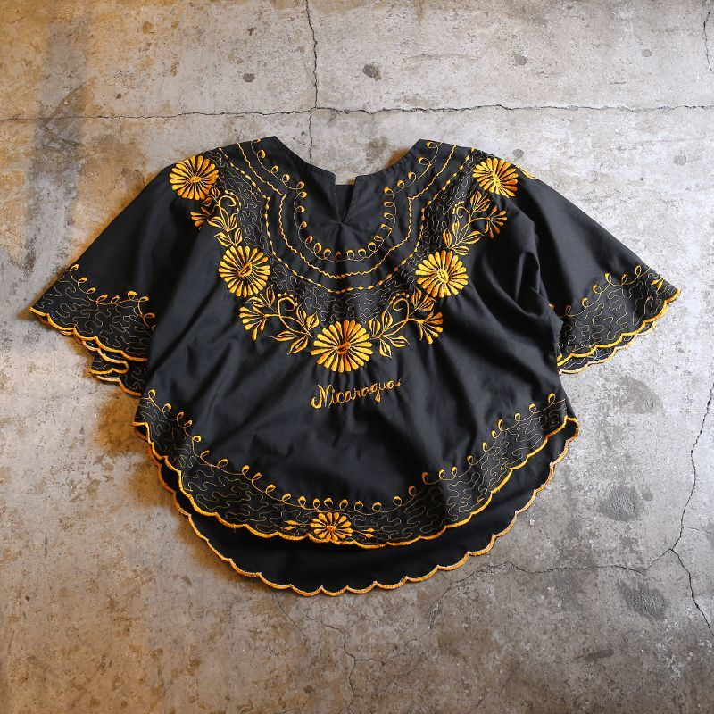 画像1: EMBROIDERY DESIGN BLOUSE / Ladies M (1)