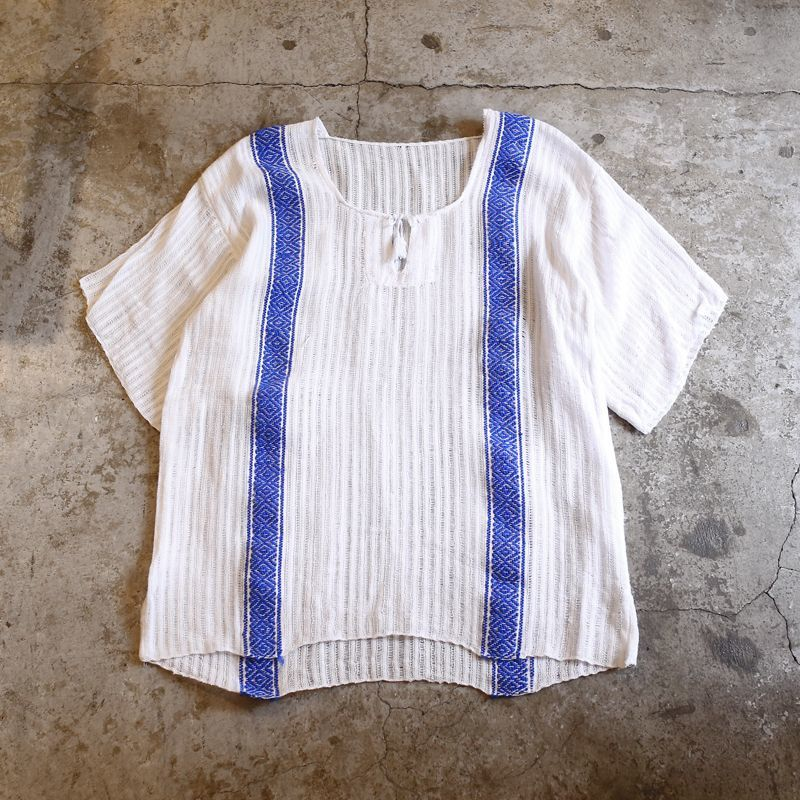 画像1: VINTAGE LINE DESIGN TOPS / Ladies M (1)