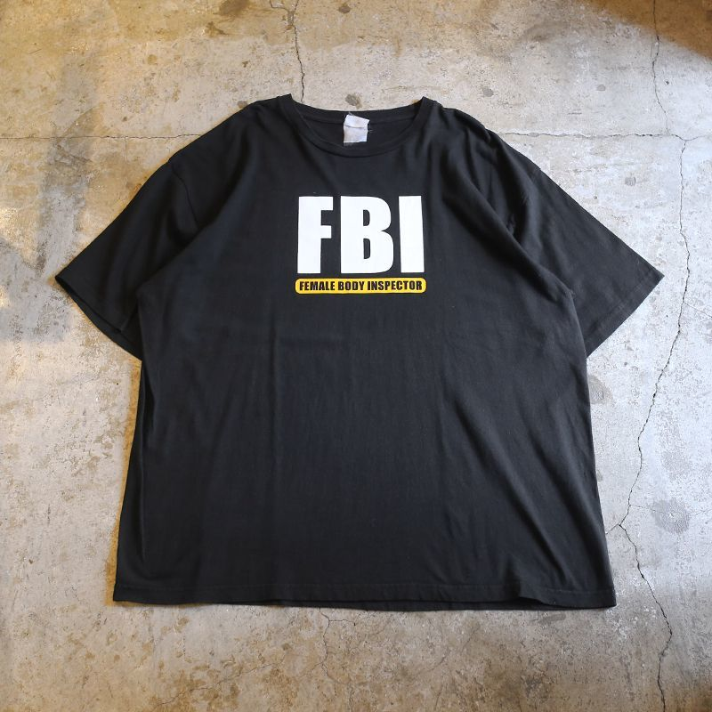 "画像1: ""FEMALE BODY INSPECTOR "" PRINT TEE / Men's XL (1)"