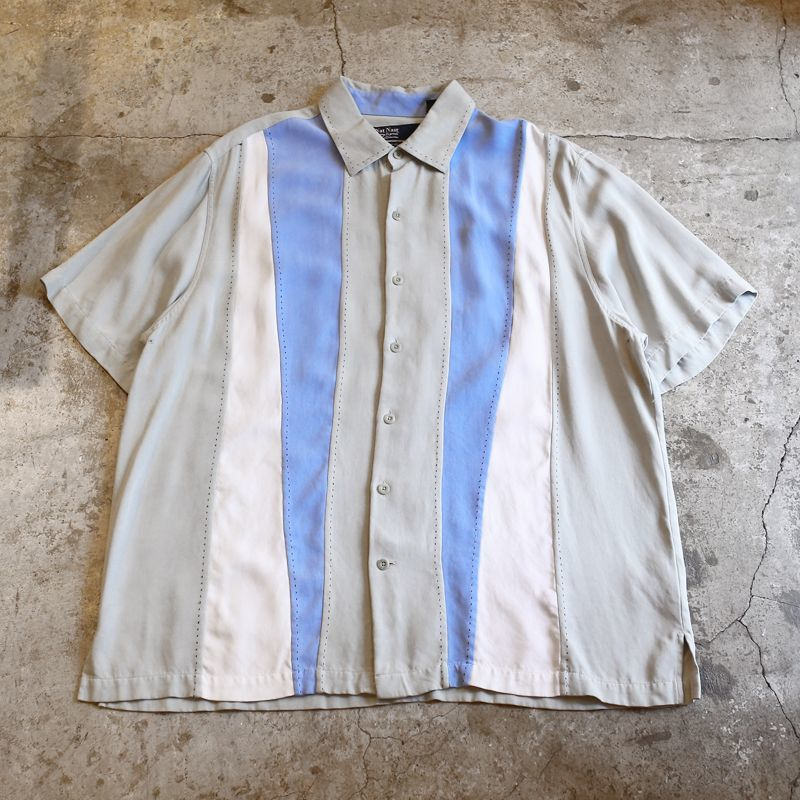画像1: SWITCH DESIGN SILK S/S SHIRT / Mens L (1)