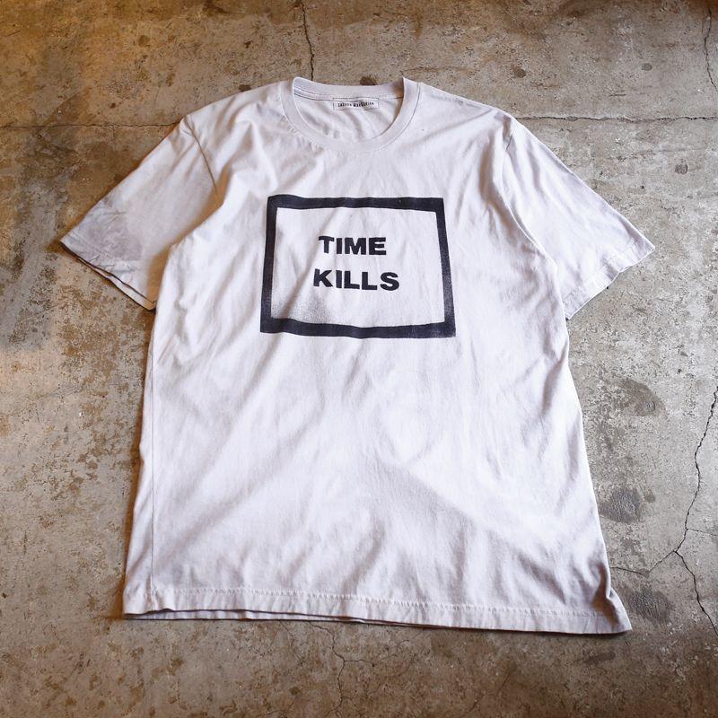 """画像1: 【SASOON MARKARIAN】""""TIME KILLS"""" TEE / Men's XL (1)"""