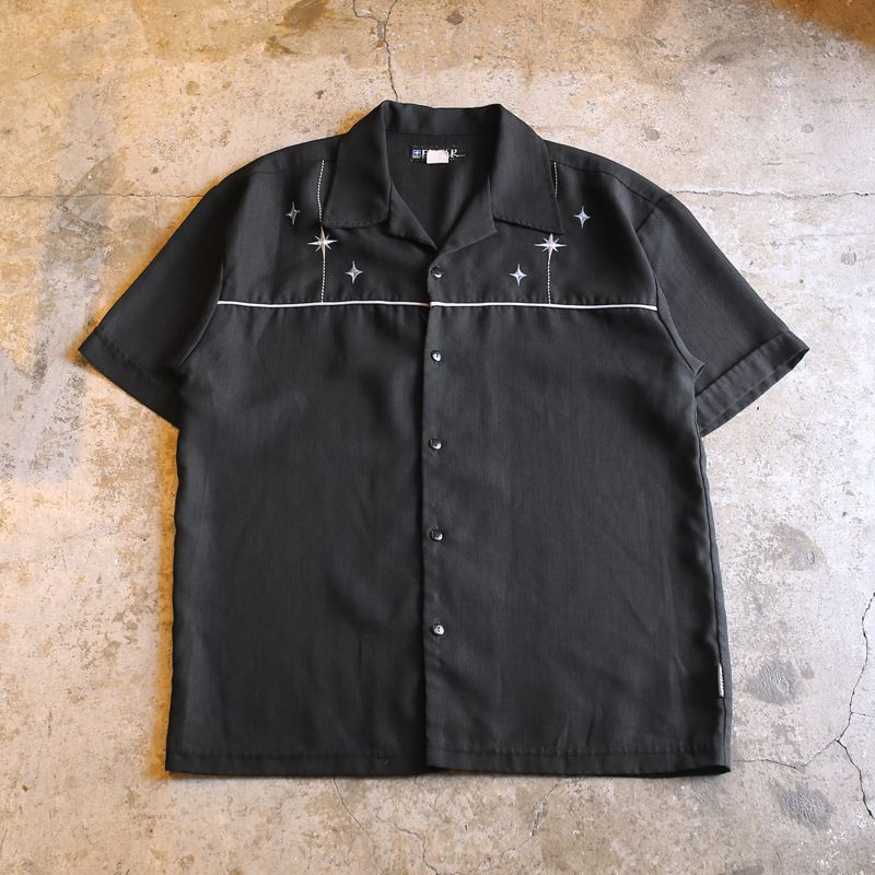 画像1: EMBROIDERY DESIGN SHIRT / Mens M / MADE IN USA (1)