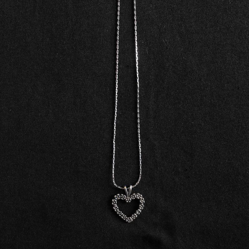 画像1: HEART PENDENT DESIGN NECKLACE (1)