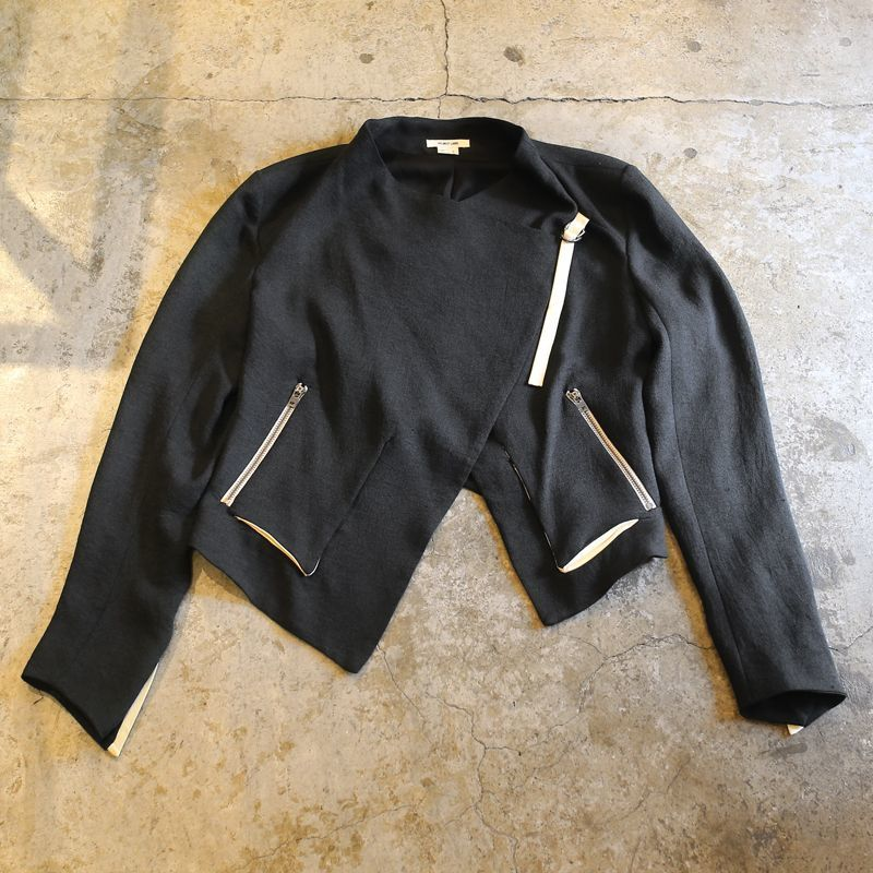 画像1: 【HELMUT LANG】MONOCHROME DESIGN JACKET / Ladies M (1)