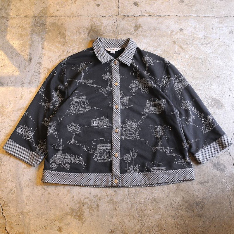 画像1: ART PATTERN DESIGN SHIRT / Ladies XL (1)