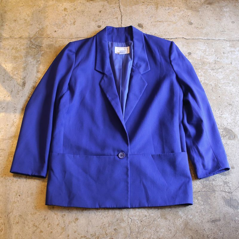 画像1: COLOR DESIGN TAILORED JACKET / Mens M (1)