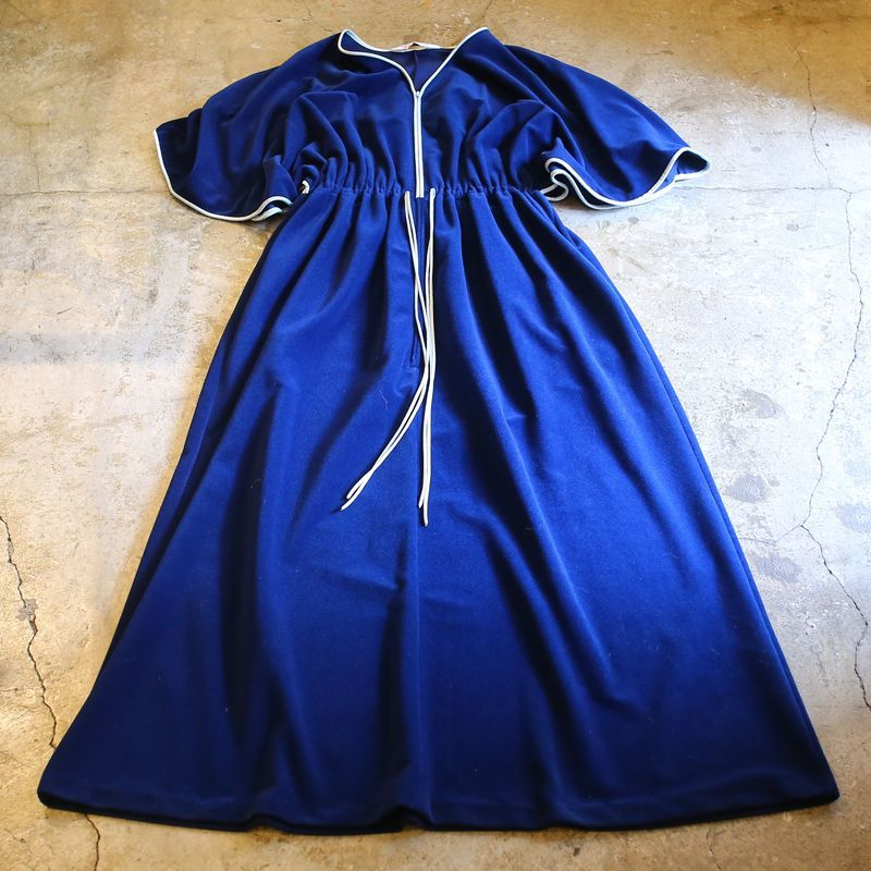 画像1: ZIP DESIGN ONE-PIECE / Ladies L / MADE IN USA (1)