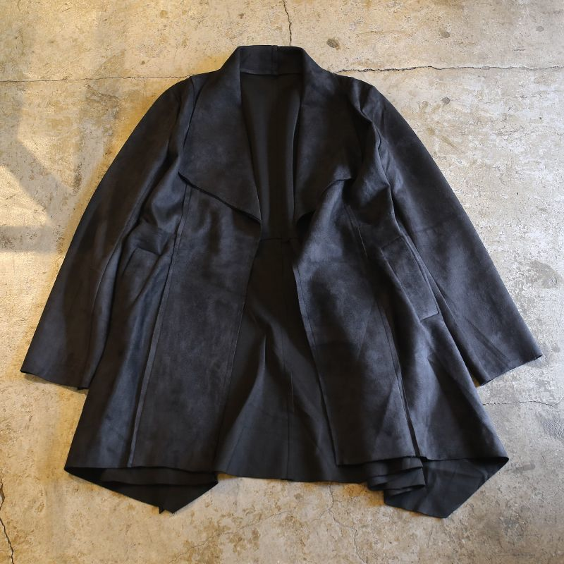 画像1: FAUX SUEDE DESIGN JACKET / Ladies M (1)