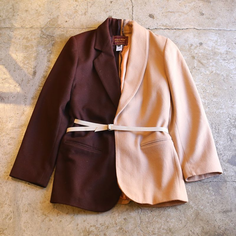 画像1: 【Wiz&Witch】TAYLOR SIDE WRAP JACKET / OS (1)