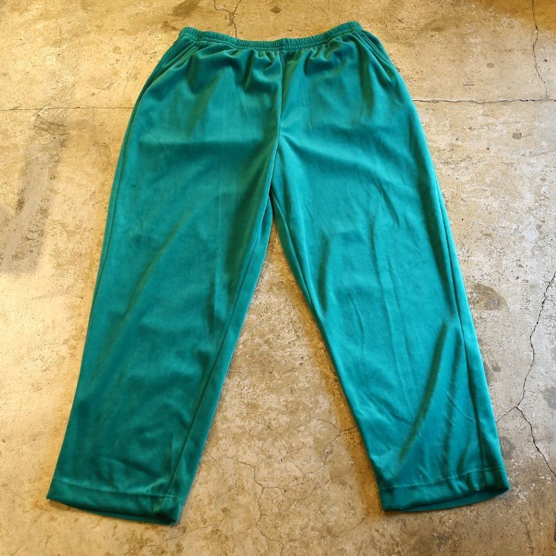 画像1: COLOR DESIGN VELVET PANTS / W29~ (1)