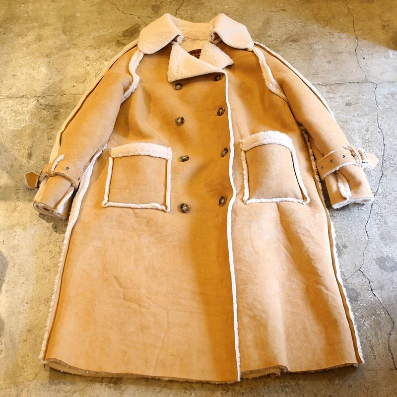 "画像1: 20%OFF!!【Wiz&Witch】""THE U.K"" FAUX MOUTON BUFFALO COAT (1)"