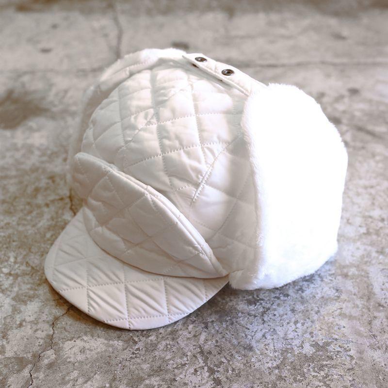 画像1: 20%OFF!!【WONDERGROUND】QUILTING FRONTIER CAP / WHITE (1)