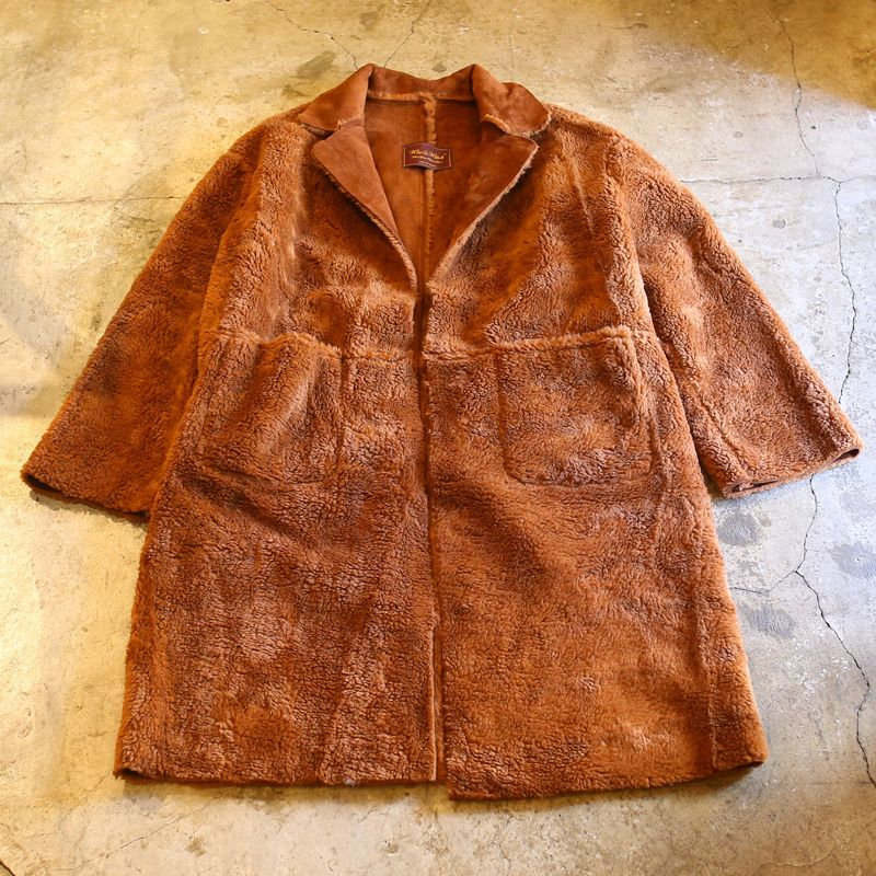 "画像1: 20%OFF!!【Wiz&Witch】""THE U.K"" REVERSIBLE FAUX MOUTON LONG COAT / BROWN (1)"