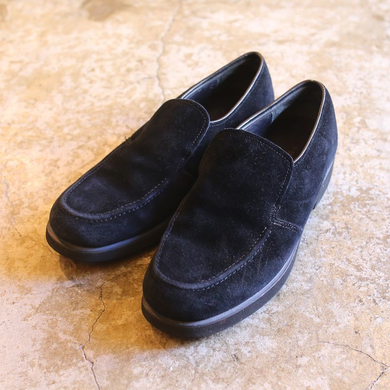 画像1: SUEDE LEATHER DESIGN LOAFER / 8 (1)