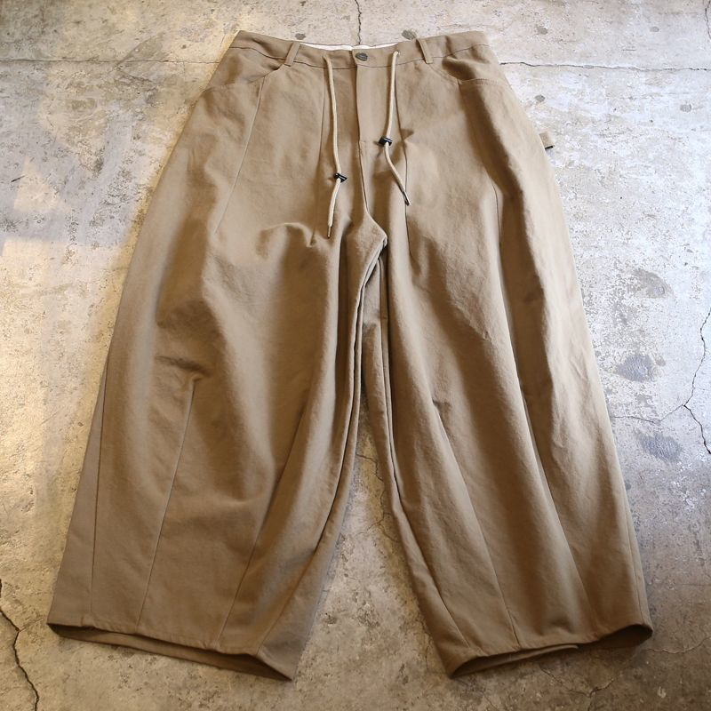 画像1: 【WONDERGROUND】CHILLAX PANTS / KHAKI (1)