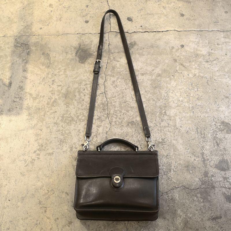 画像1: 【COACH】LEAHTER SHOULDER BAG (1)