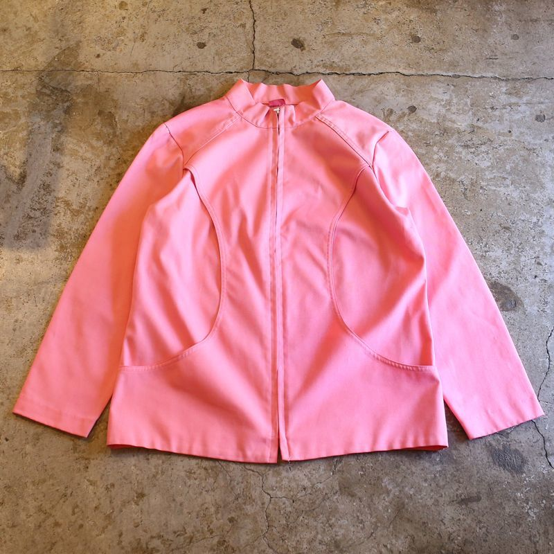 画像1: VINTAGE COLOR DESIGN JACKET / Ladies M (1)