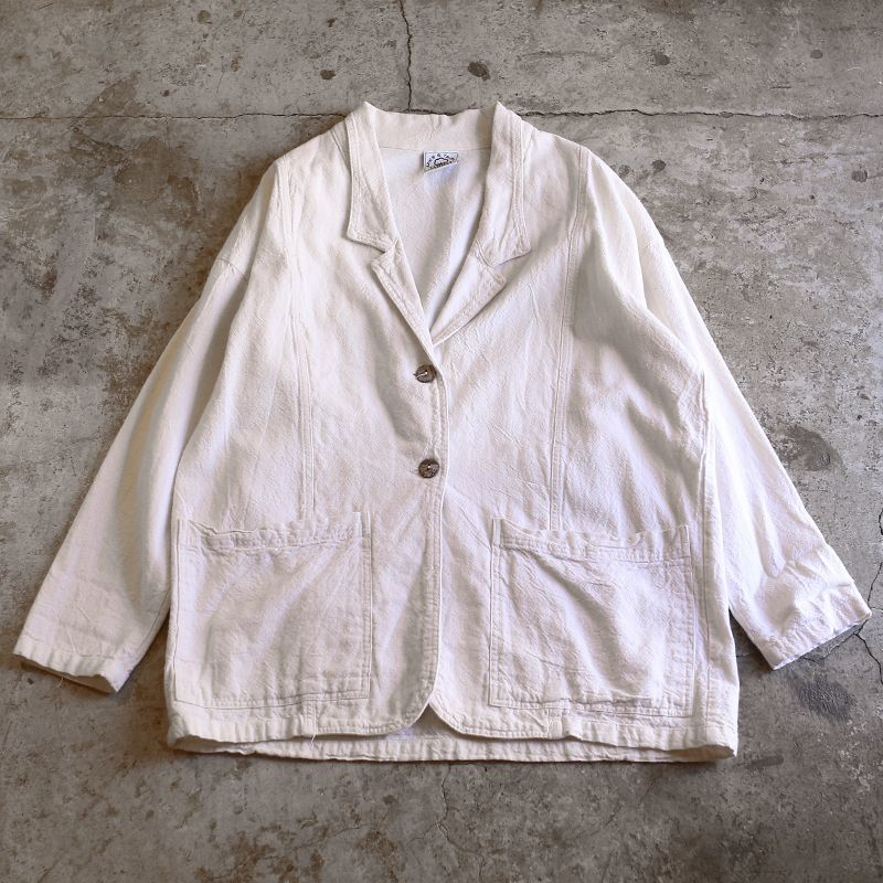 画像1: DESIGN TAILORED JACKET / Ladies L / MADE IN USA (1)