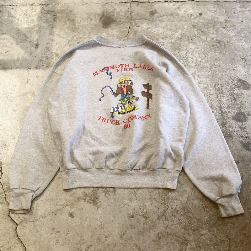 画像1: 1990's VINTAGE PRINTED SWEAT / Ladies XL (1)