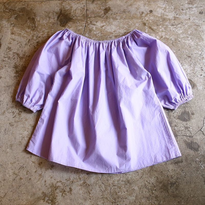 画像1: BOUFFANT SLEEVE DESIGN BLOUSE / Ladies M (1)