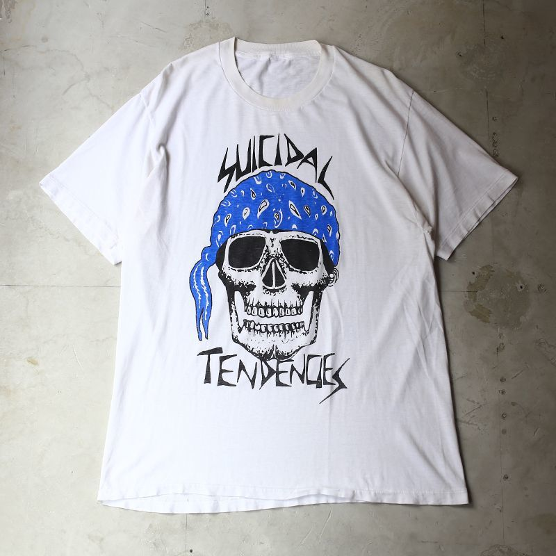 "画像1: OLD ""Suicidal Tendencies"" PRINT TEE / Mens L (1)"