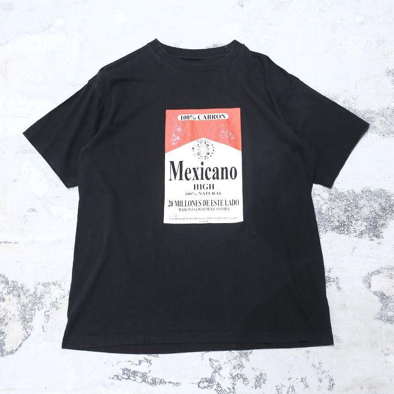 "画像1: ""MEXICANO"" PARODY DESIGN TEE / Men's L (1)"