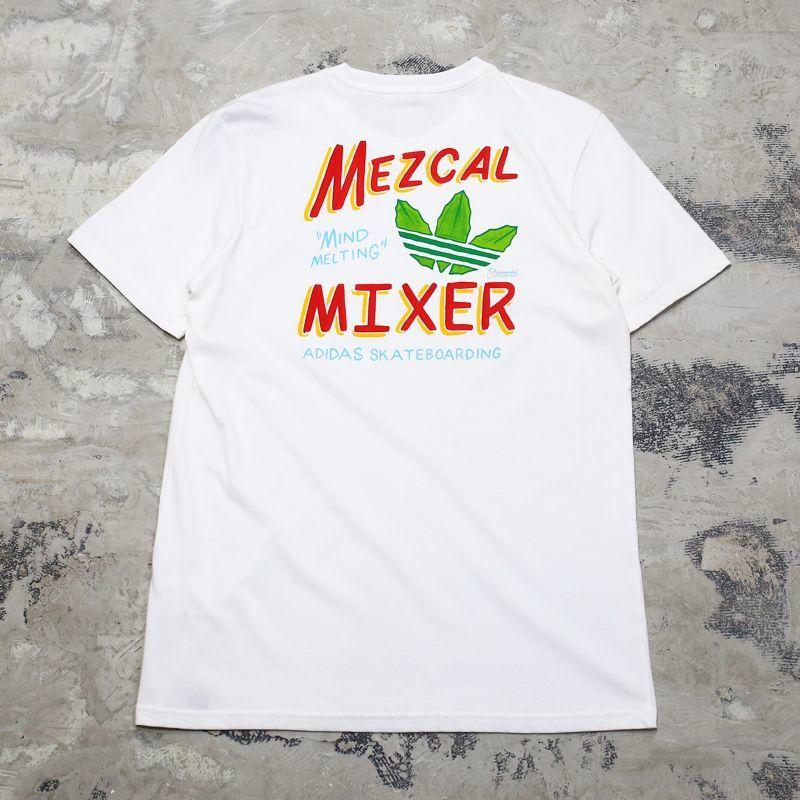 画像1: 【adidas】MEZCAL MIXER BACK PRINT TEE / Mens M (1)