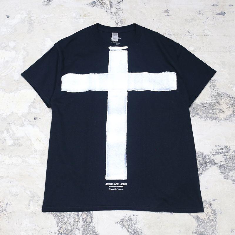 画像1: 【JESUS AND JOHN】CROSS T-SHIRTS (1)