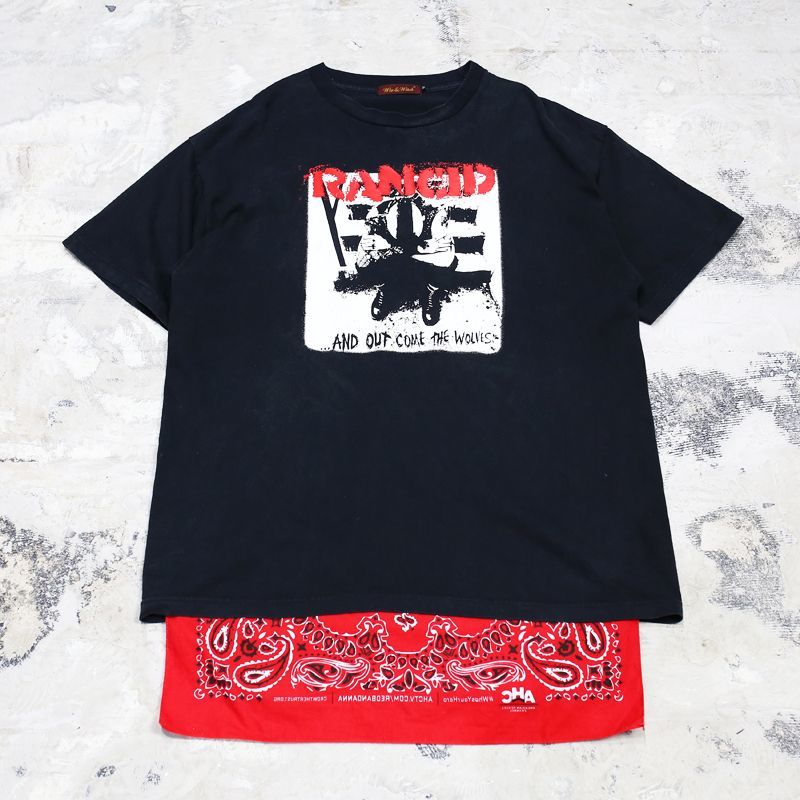 "画像1: 【Wiz&Witch】""TEXAS"" ROCK TEE / Mens OS (1)"