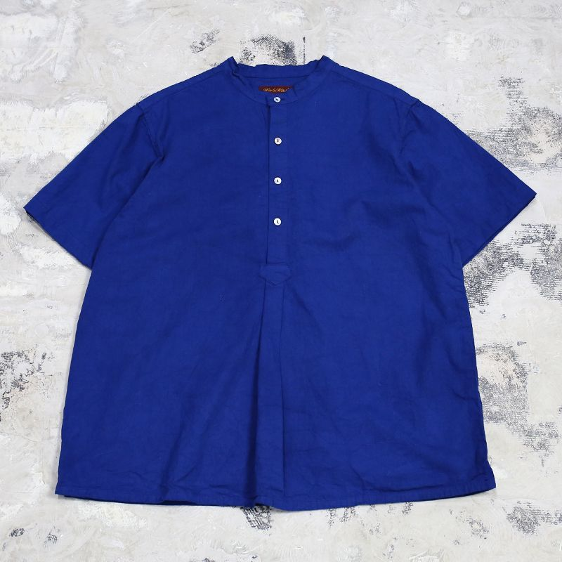 "画像1: 【Wiz&Witch】""GYPSY"" EURO HENLEY S/S SHIRT / NAVY / Men's L (1)"