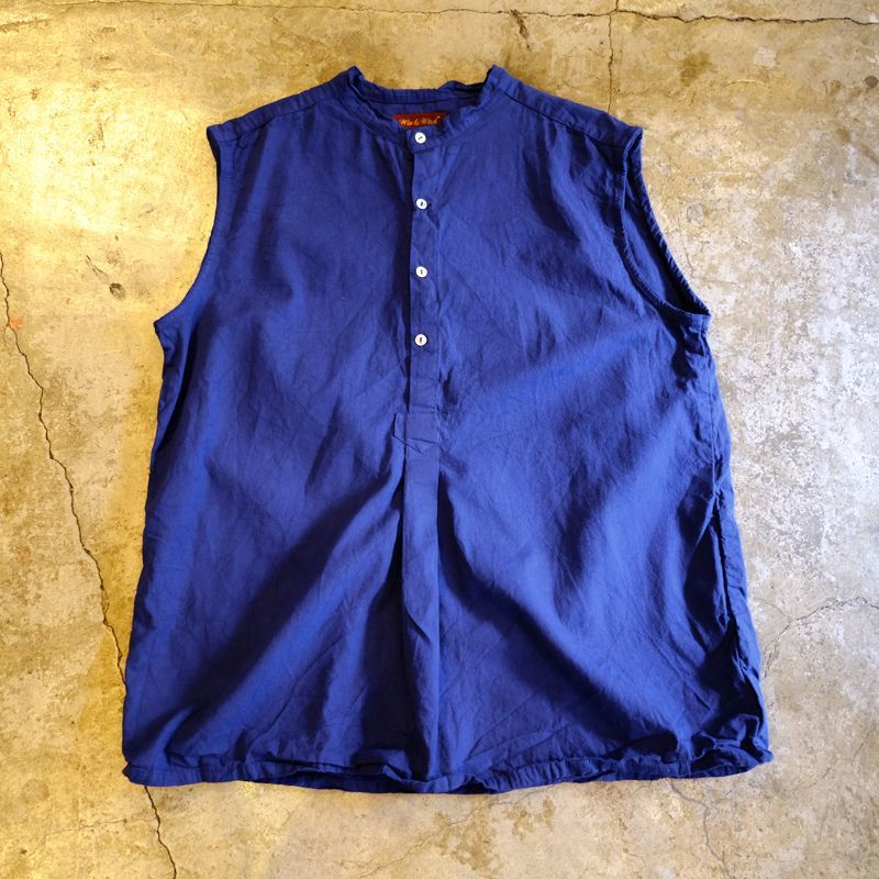 "画像1: 【Wiz&Witch】""GYPSY"" EURO HENLEY N/S SHIRT / NAVY / Ladies L (1)"