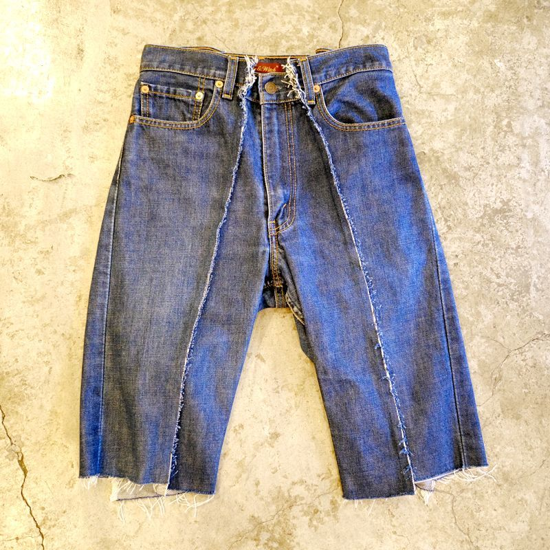 "画像1: 【Wiz&Witch】""TWINS"" DENIM SHORTS / W28 (1)"