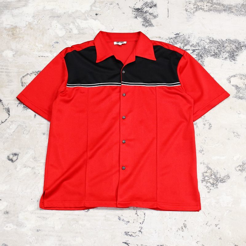 画像1: OLD SWITCHED 2TONE COLOR S/S SHIRT / Mens L / MADE IN USA (1)