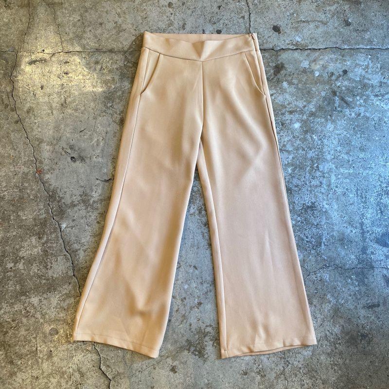 画像1: COLOR FLARE PANTS  / W28 (1)