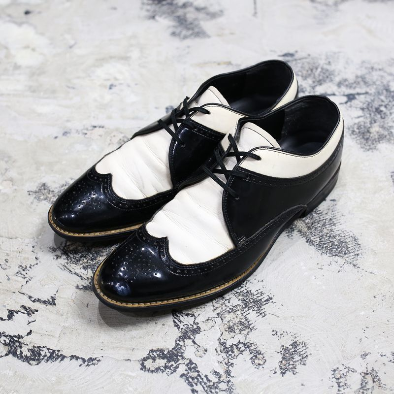 画像1: 【STACY ADAMS】OLD COMBINATION WINGTIP / US8.5 (1)